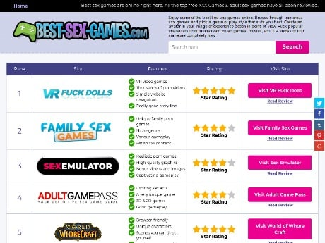 Best Sex Games