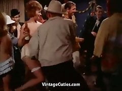 Vintage - Topless Dancing At A Costume Party (28-10-1962)