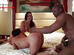 Lucky BBC Fucks Two Horny Housewives