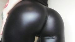 Leather Pants Ass Worship