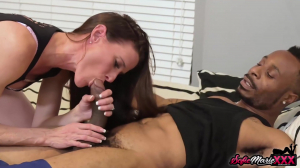 Slim Milf Interracially Fucked Hardcore With Sofie Marie