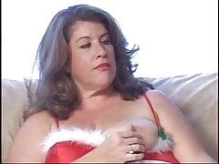 Mature and lonely bbw gets fucked by St. Nick for Christmas.
