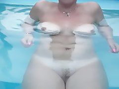 Mature Wife Nudes Bathes
