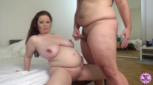 Pregnant Milf Fucks Me As I Am Gentleman Handling Her Sensitive Big Boobs