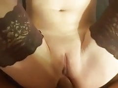 Anal fuck to orgasm with amateur Swedish girl from fitta.eu