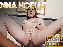 PASCALSSUBSLUTS - Submissive Jenna Noelle Fucked Hard by BBC