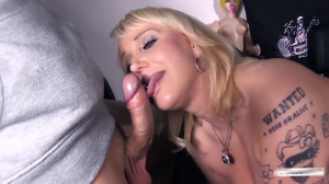 German Milf Fucks In The Bus For Money