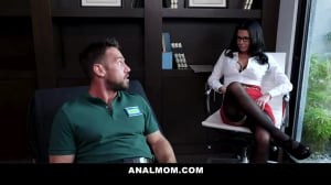 Fucking My Milf Psychologist In The Ass With Johnny Castle And Veronica Avluv