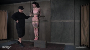 Lydia Black Neck Tied Goth Slave Gets Rough Bdsm Session