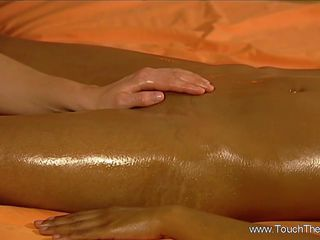 Female Friends Loving Sensual Massage