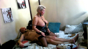 Quiet Family Morning Of Mature Russian Couple Bald Bearded Man Fucks His Cougar In All Her Holes!